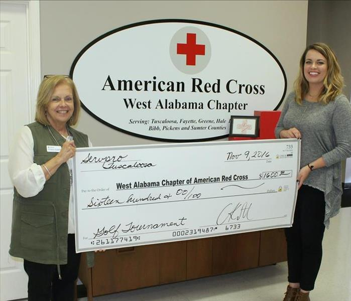 Check Presentation Red Cross
